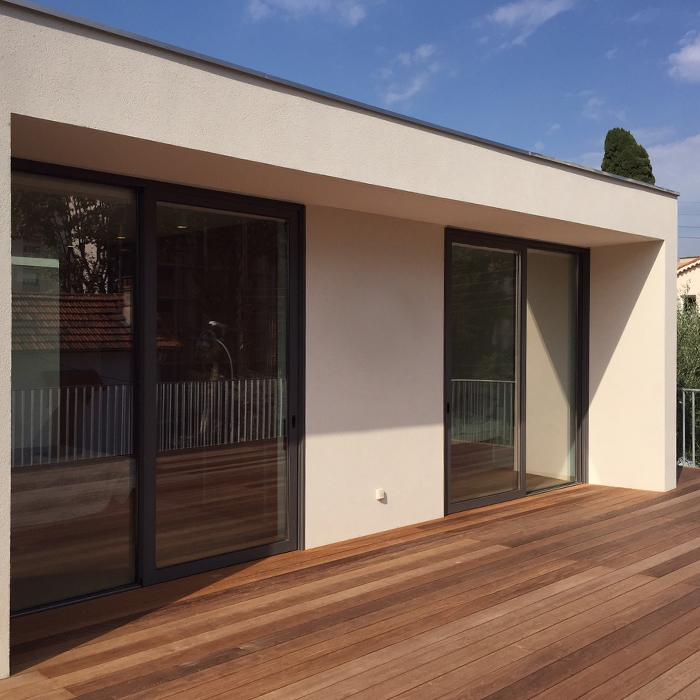 Vetrate scorrevoli in alluminio finestre af - Profili alluminio per finestre ...